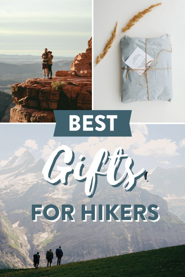 Best Gifts for Hikers Image for Pinterest