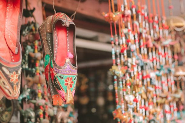 Joothis shoes for Jaipur Itinerary 3 days in Jaipur