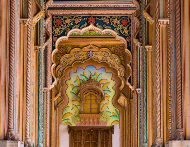 Jawakar Circle Garden Patrika Gate for Jaipur Itinerary 3 days in Jaipur