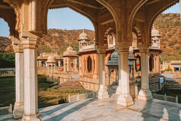 Gaitore Crematorium for Jaipur Itinerary 3 days in Jaipur