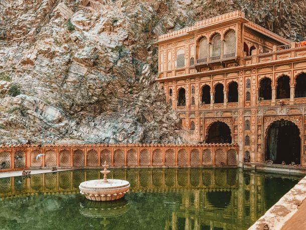 Galtaji Temple for Jaipur Itinerary 3 days in Jaipur