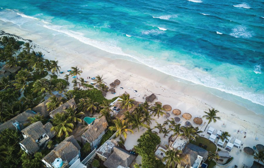 beach hotels in Tulum for where to stay in Tulum post