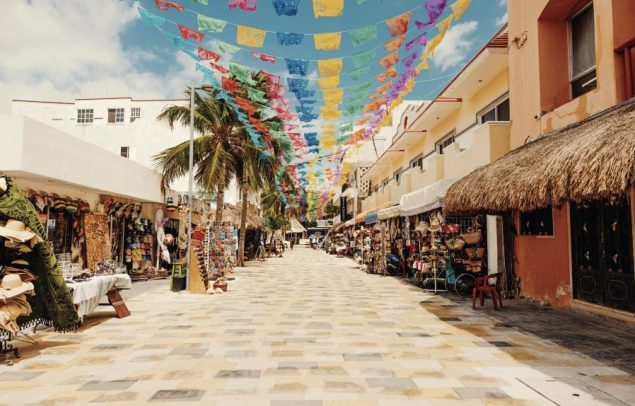roads in playa del carmen for guide to renting a car in playa del carmen, mexico
