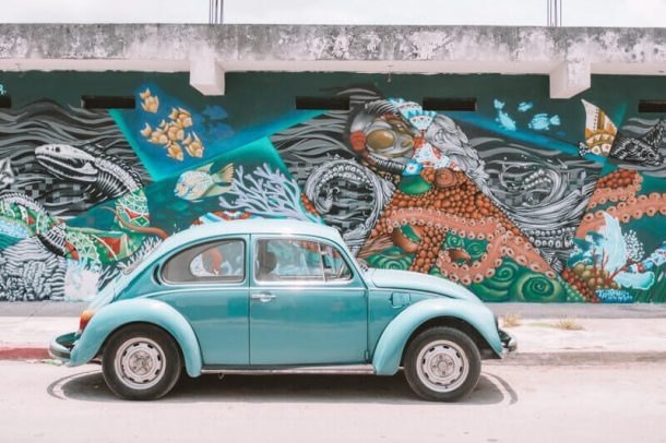 Driving in Mexico for renting a car in Playa del Carmen
